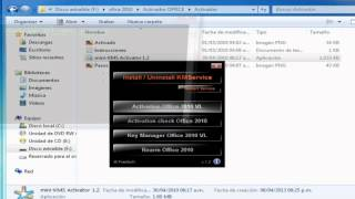 descargar e instalar activador del office 2010