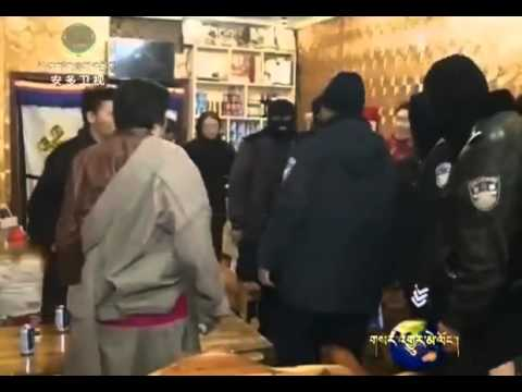 Chinese police raid Tibetan internet cafes and businesses