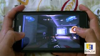 Samsung Galaxy Note GT N7000 Gaming Test - N.O.V.A 3 HD Gameplay