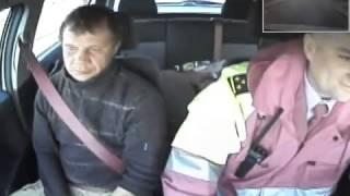 Задержание пьяного водителя в Беларуси
