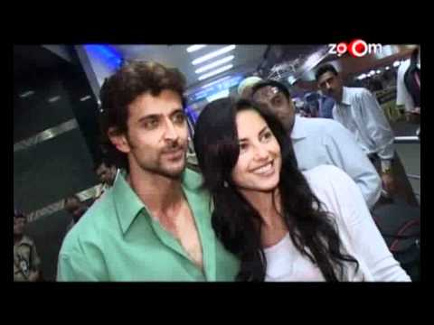 Barbara Mori Reportedly Visits Hrithik Roshan In Spain video