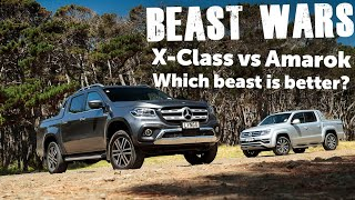 VW Amarok Aventura vs Mercedes-Benz X-Class 350 D | Head to Head