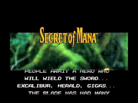 Secret of Mana - Secret of Mana Intro Music - User video