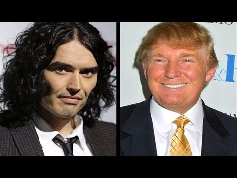 Donald Trump & Russell Brand Fight On Twitter!