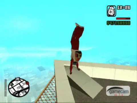 Gta San andreas jump fun