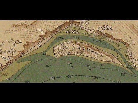 Шукач | Остров Змеиный (Перун) на реке Днепр. Древний рудник добычи золота