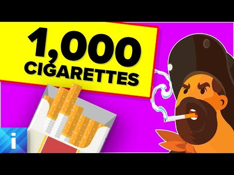 What If You Smoke 1000 Cigarettes At the Same Time