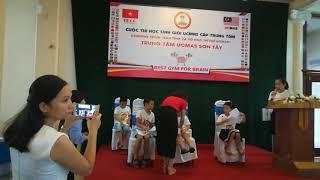Top 6/100 cuộc thi UCMAS Sơn Tây 2019