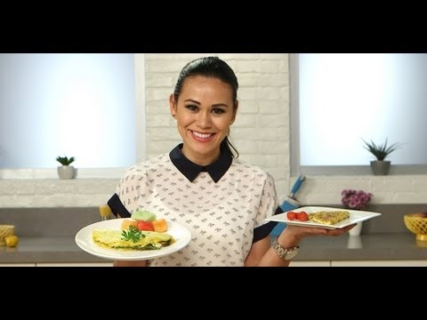 Meat and Veggie Omelet Recipe | Breakfast Ideas | Food How To