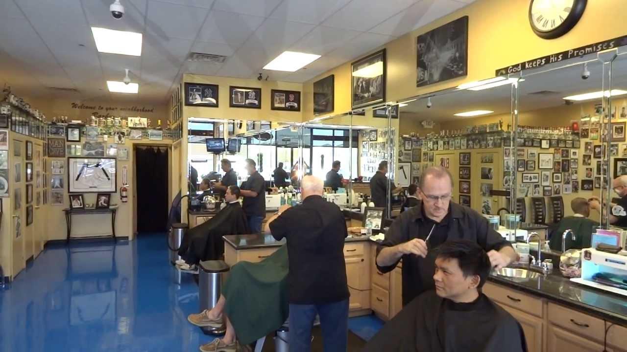 Vicks Barber Shop in Summerlin, Las Vegas - YouTube