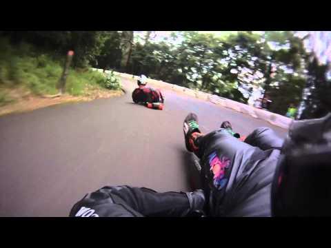 Mt. Keira IGSA World Cup Street luge highlights and crashes: P.U.L.S.e edition