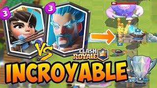Clash Royale - MON MEILLEUR COMBAT ? Enorme Gameplay en Arene LEGENDE !