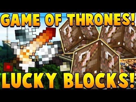 GAME OF THRONES LUCKY BLOCK MOD CHALLENGE Race | Minecraft - Lucky Block Mod