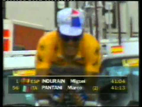 Tour De France 1994 Channel 4 Stage 19 Time Trial Moutiers-Cluses.