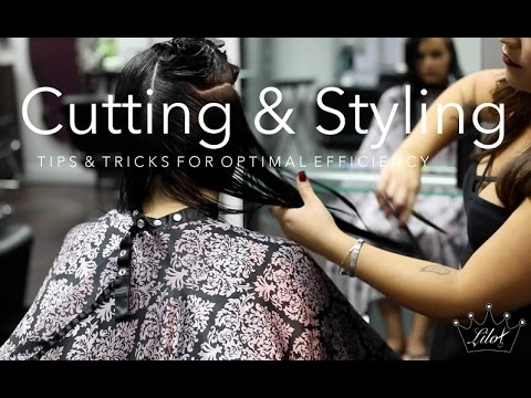 Hair Cutting And Styling Tips For Efficency
