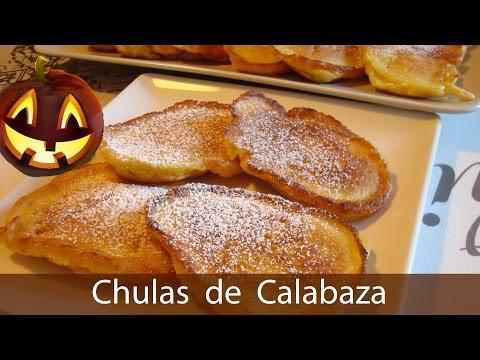"""Como hacer chulas de calabaza #171 (Spanish Pumpkin """"Chulas"""") - Cocina en video.com"""