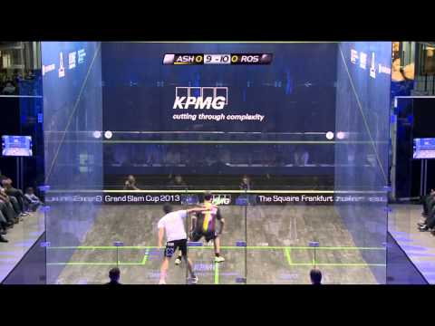 Squash : KPMG grand Slam Cup 2013 (Exhibition) Semi-Final Roundup