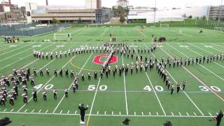 Ohio State Marching Band Hollywood Blockbusters Show At Pregame Practice 10 26 2013 Osu Vs Penn Sta