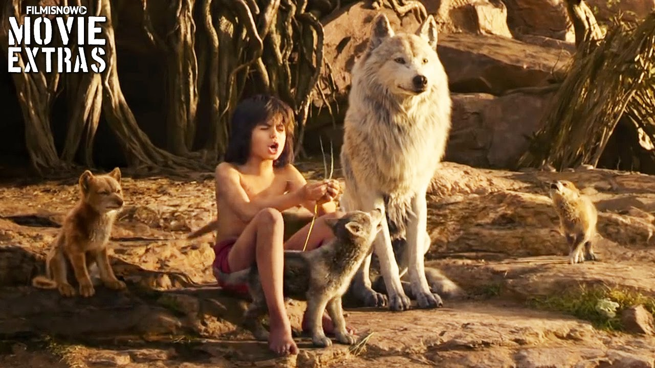 The Jungle Book 'The Voices' Featurette (2016)