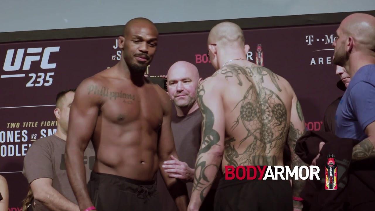 UFC 235: Обзор церемонии взвешивания