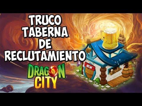 Truco para conseguir los dragones de la Taberna de Reclutamiento 2014 - Dragon City