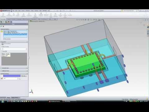 High Frequency Simulation Software HF Works: Packaging Problem