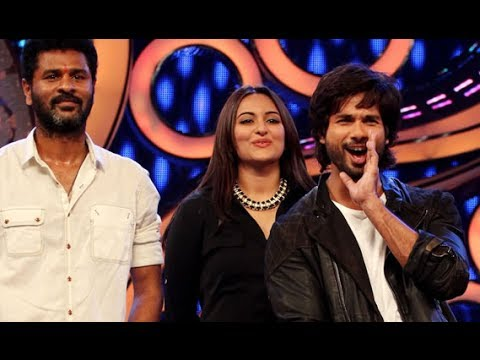 Shahid Kapoor, Prabhu Dheva & Sonakshi Sinha Launching gandi Baat On Dance India Dance video