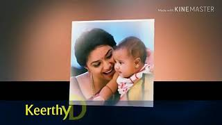 South Actress Keerthy Suresh Husband & Family Rare Unseen Video | 2018