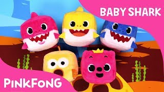 CUBE Baby Sharks  Pinkfong Cube  Animal Songs  Pinkfong Songs for Children