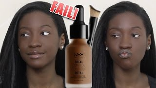 Foundation Hunt #15: NYX Total Control Drop Foundation (Shade Fail!)