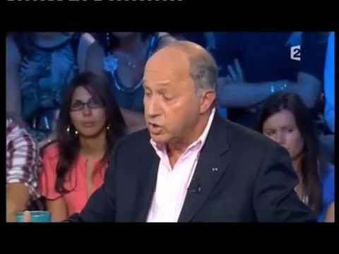 Laurent Fabius - On n'est pas couché 11 septembre 2010 #ONPC