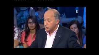 Laurent Fabius - On n'est pas couché 11 septembre 2010 #ONPC
