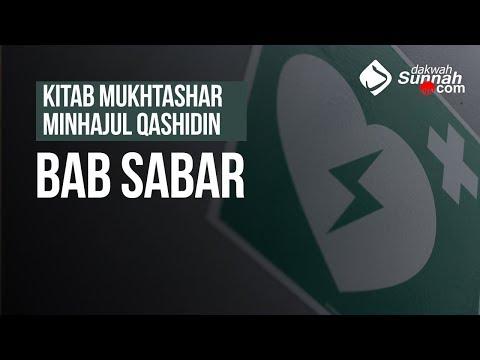 Bab Sabar - UstadzAhmad Zainuddin Al Banjary