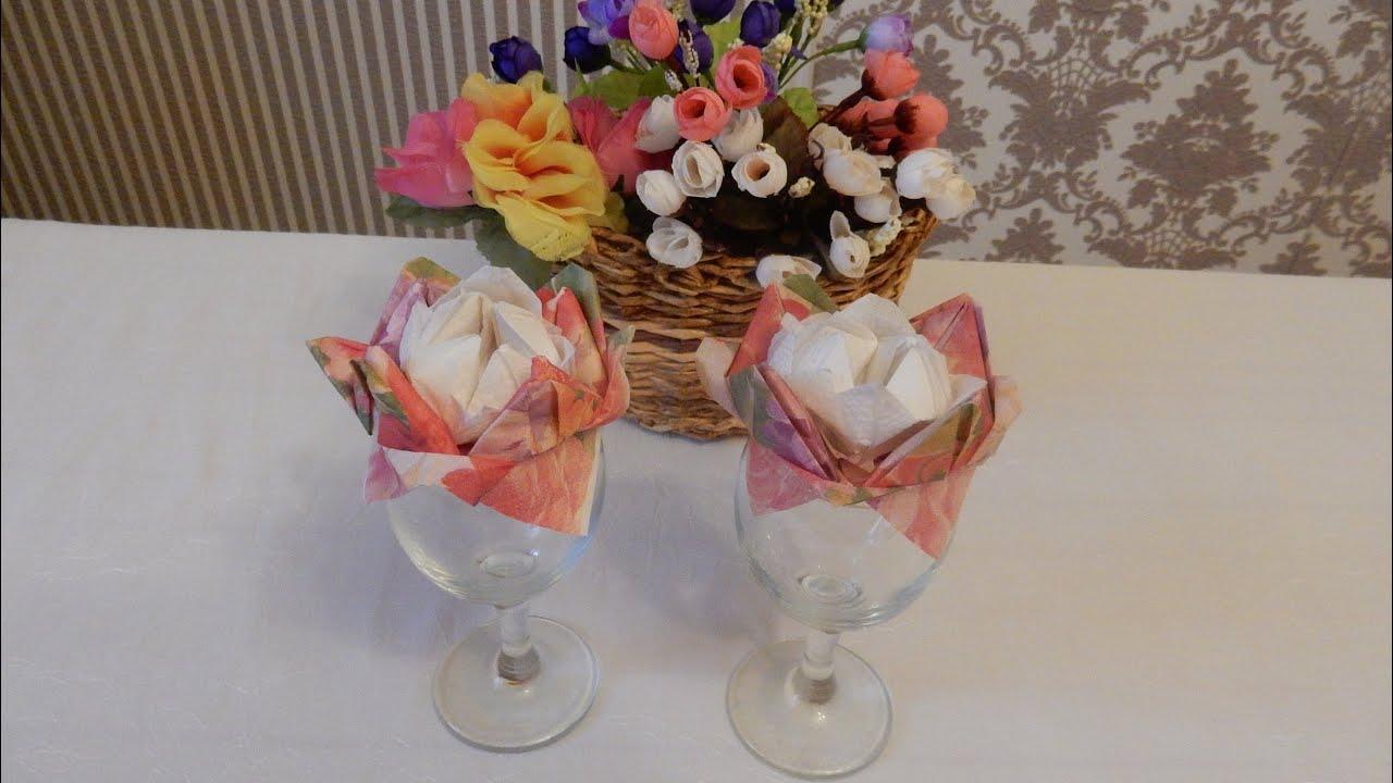 Цветы для украшения стола своими руками фото