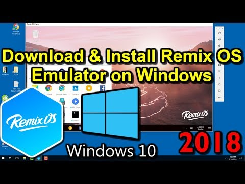 Remix OS Player for Windows 10 in 2018 Installation and Download Tutorial