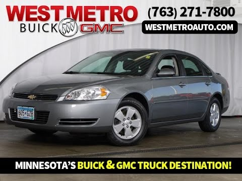 2008 Chevrolet Impala Minneapolis St. Cloud & Monticello MN 25116B