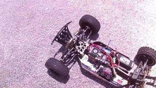 RC 1/5th SCALE CASTLE XL-X esc / 2028 MOTOR BUGGY TEST RUN