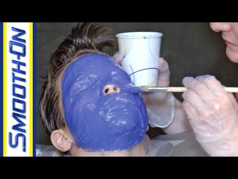 Lifecasting Tutorial: How To Make a Mold of a Kid s Face with Body Double Silicone