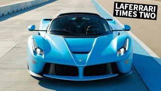 TWO Ferrari LaFerraris Get Driven by Rhys Millen