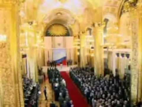 Russian Anthem at Inaugaration of President Dmitry Medvedev 2008
