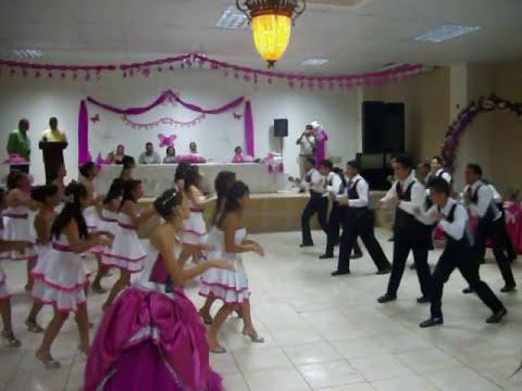 ABALAT coreografia 15 años Jennifer Turcios- TOCOA - COLON HONDURAS