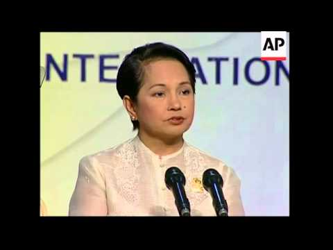 WRAP Asian leaders meet at ASEAN summit, signing, protests; Arroyo presser