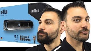 Beard Trim - Braun MGK3080 Beard Trimmer and Body Shaver vs Philips Norelco Multigroom 7000
