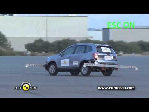 Euro NCAP | Subaru Forester | 2012 | Электронный контроль устойчивости