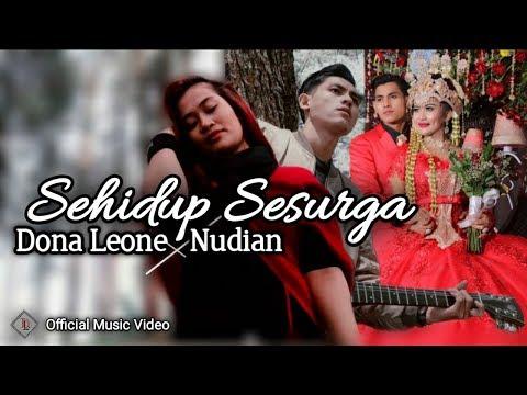 SEHIDUP SESURGA ( Official Music Video ) DONA LEONE Feat UJANG NUDIAN   PENGANTIN VIRAL BERKARYA