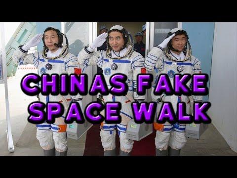 China's FAKE Space Walk - Flat Earth
