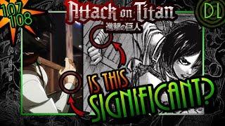 Mikasa's Big Secret CUT From Anime?? ? Attack on Titan Manga/Anime Discussion! ? | DarkLogic |