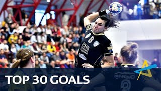 Top 30 goals of the 2017 Women's EHF Champions League