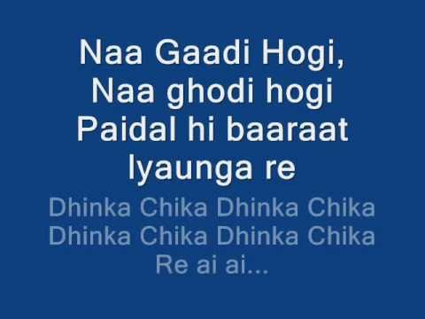Dhinka Chika Lyrics On Screen ♥ Ready 2011 Hd Hq video