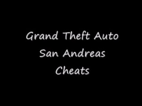 Sex cheat gta san andreas xbox